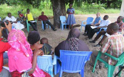 COWSO capacity building in Bagamoyo